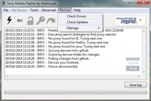 دانلود آخرین نسخهی FlashTool,download flashtool,دانلود فلش تول