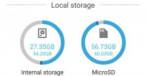آموزش تغییر حافظه داخلی و SD Card